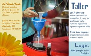 Taller de elaboración de productos Cosméticos (para usar y regalar) @ La Tienda Verde