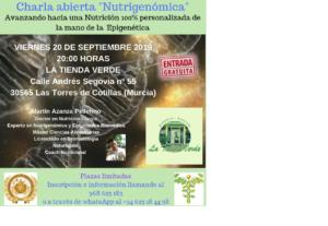 Charla sobre Nutrigenómica @ La Tienda Verde